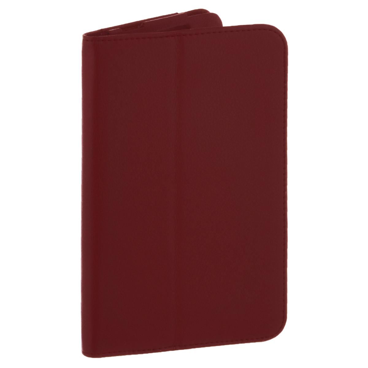 IT Baggage чехол для планшета Lenovo Idea Tab 2 7 A7-30, RedITLNA7302-3IT Baggage для Lenovo Idea Tab 2 7 A7-30 - удобный и надежный чехол, который надежно защищает ваше устройство от внешних воздействий, грязи, пыли, брызг. Данный чехол поможет при ударах и падениях, смягчая их, и не позволяя образовываться на корпусе царапинам, потертостям. Кроме того, он будет незаменим при длительной транспортировке устройства. Обеспечивает свободный доступ ко всем разъемам и клавишам планшета.