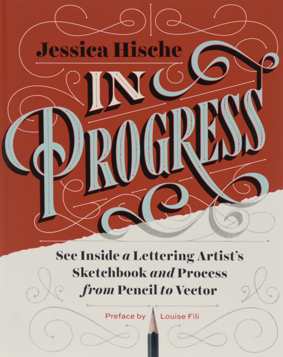 In Progress: See Inside a Lettering Artist's Sketchbook and Process, from Pencil to Vector nerds