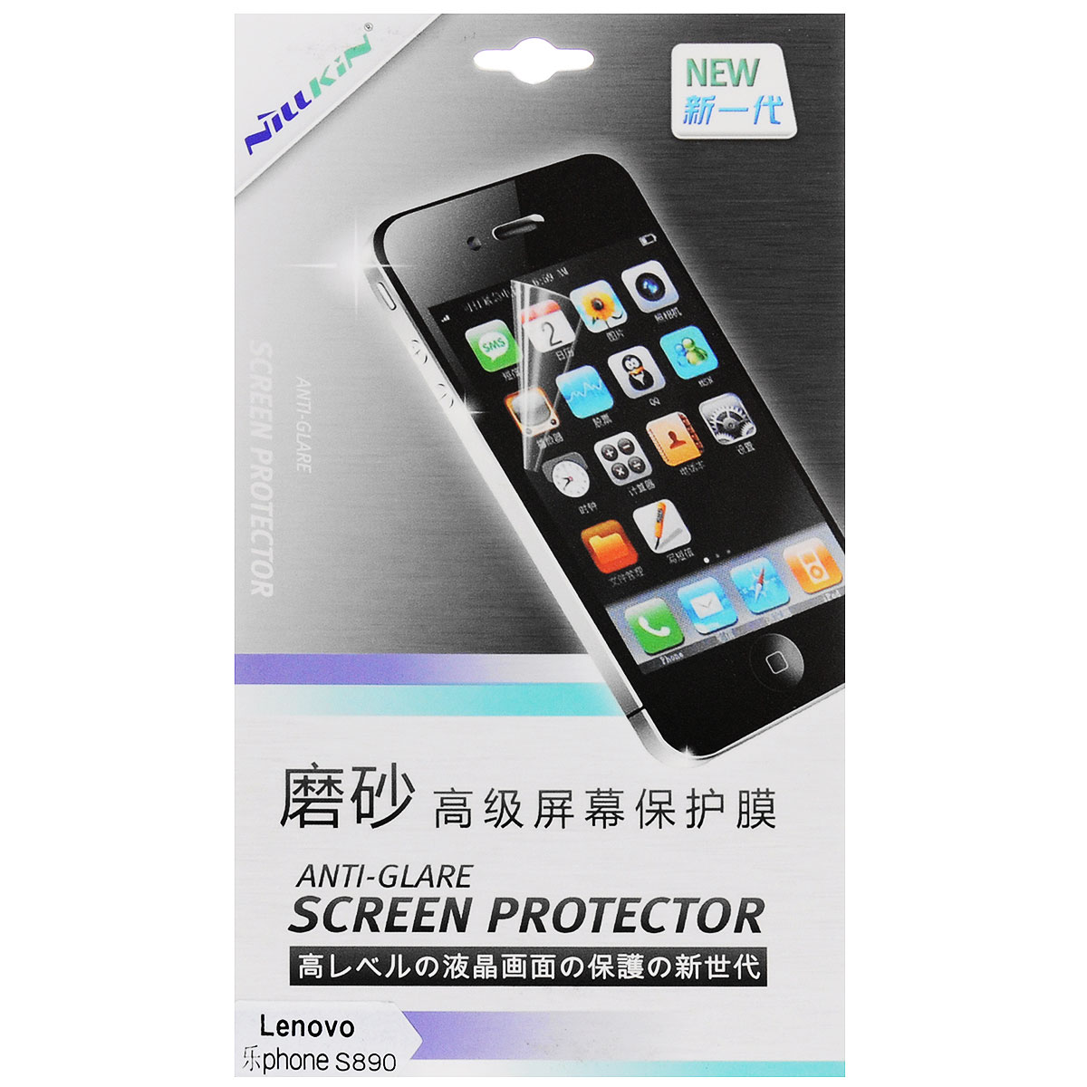 Nillkin Screen Protector защитная пленка для Lenovo S890, матовая