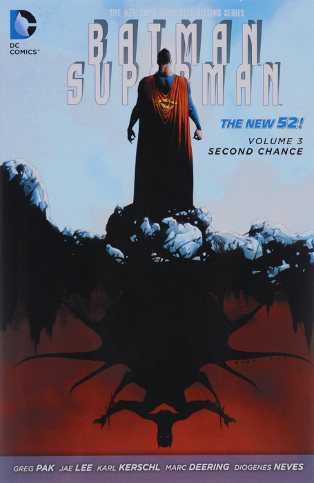 Batman / Superman: Volume 3: Second Chance greg pak batman superman volume 1 cross world