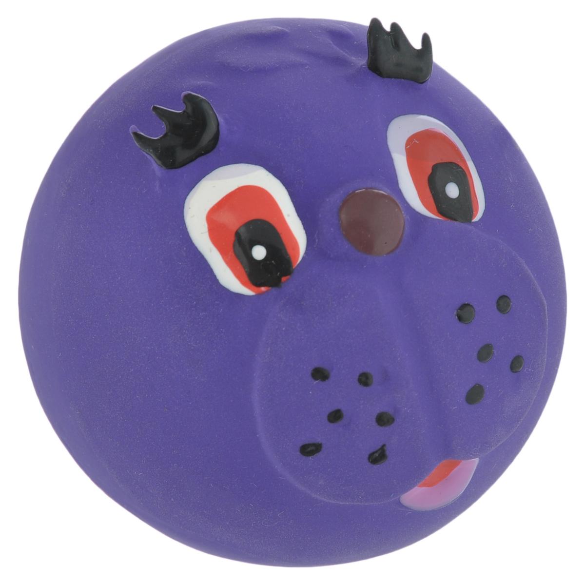 Игрушка для собак I.P.T.S. Мяч с мордочкой, цвет: фиолетовый, диаметр 7 см620560_фиолетовыйИгрушка для собак I.P.T.S. Мяч с мордочкой, изготовленная из высококачественного латекса, выполнена в виде мячика с милой мордочкой. Такая игрушка порадует вашего любимца, а вам доставит массу приятных эмоций, ведь наблюдать за игрой всегда интересно и приятно. Оставшись в одиночестве, ваша собака будет увлеченно играть.Диаметр: 7 см.