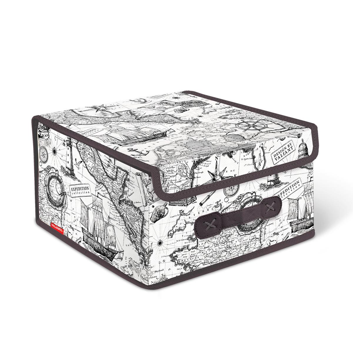 Короб стеллажный Valiant Expedition,  крышкой, 28 х 30  16 см