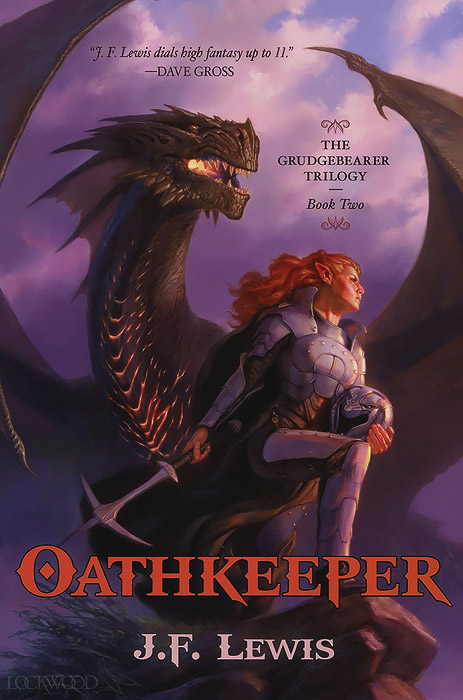 The Grudgebearer Trilogy: Book 2: Oathkeeper rollercoasters the war of the worlds