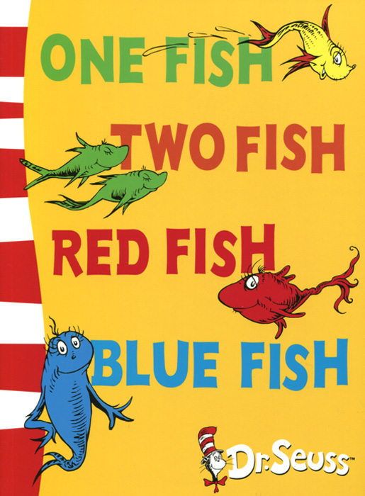 One Fish, Two Fish, Red Fish, Blue Fish out of this world dr seuss cat in the hat page 7