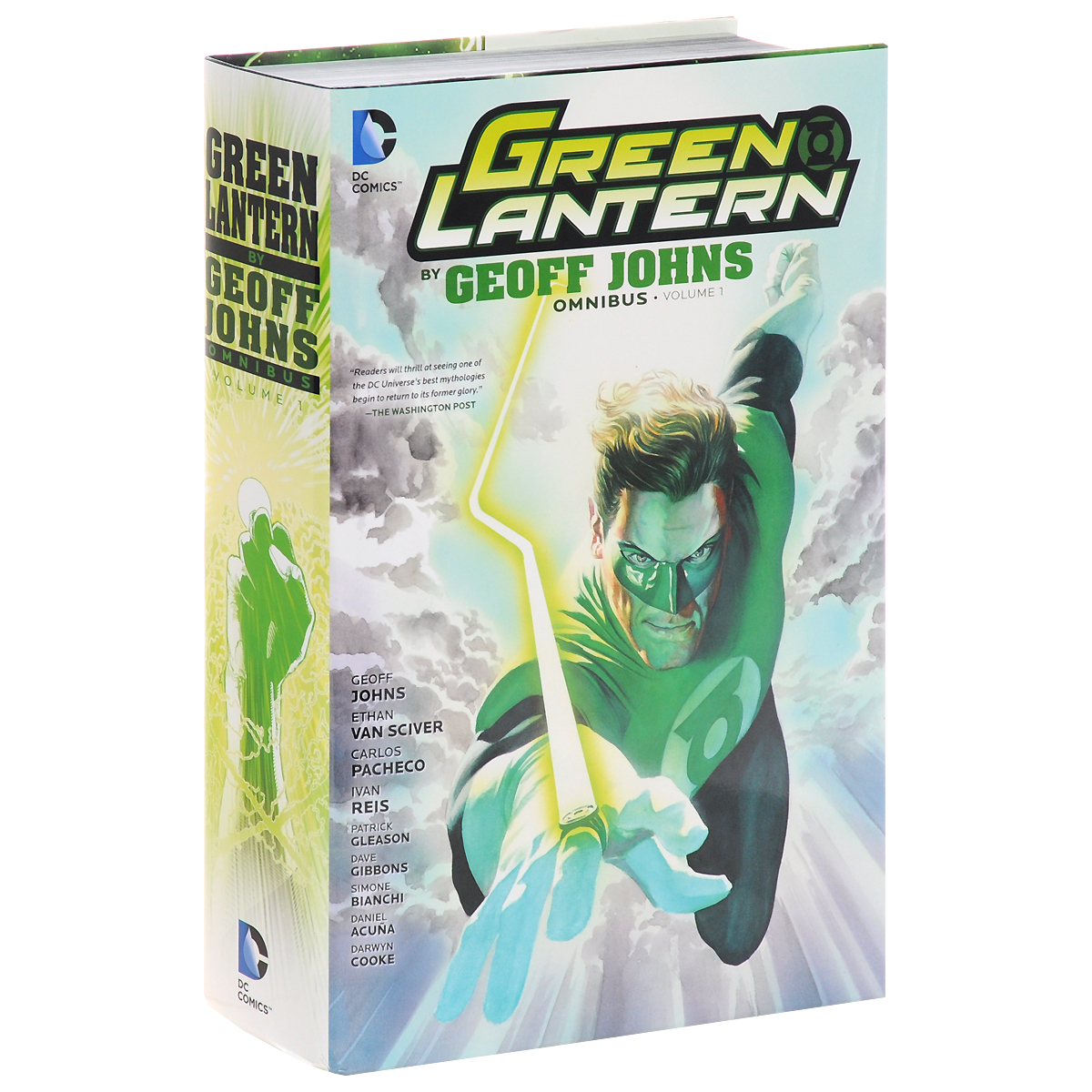 Green Lantern by Geoff Johns: Omnibus: Volume 1 hollywood curves invisible thong телесные невидимые трусики стринги размер m l