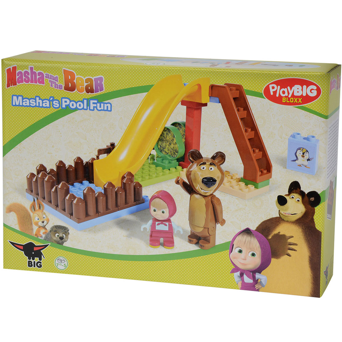 Big Конструктор Маша и Медведь Бассейн