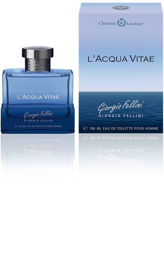 "Christine Lavoisier Giorgio Fellini ""L'Acqua Vitae"". Туалетная вода, мужская, 100 мл, Christine Lavoisier Parfums (СLP)"