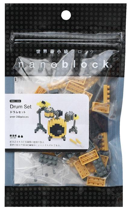 Nanoblock Мини-конструктор Барабаны