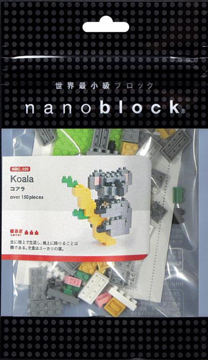 Nanoblock Мини-конструктор Коала конструктор коала nanoblock