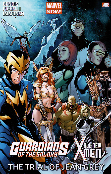 Guardians of the Galaxy / All-New X-Men: The Trail of Jean Grey space from earth to the edge of the universe