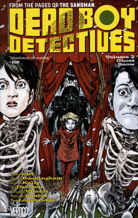 Dead Boy Detectives: Volume 2: Ghost Snow toby litt dead boy detectives volume 2 ghost snow