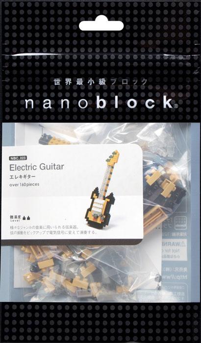 Nanoblock Мини-конструктор Электрогитара