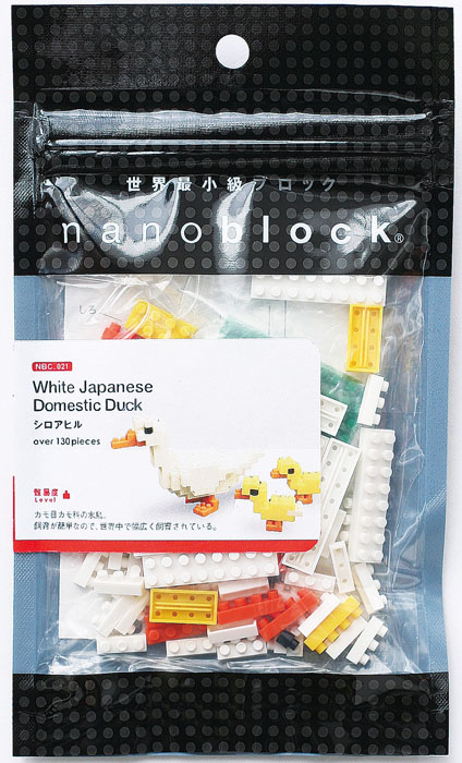 Nanoblock Мини-конструктор Японская утка nanoblock паровоз