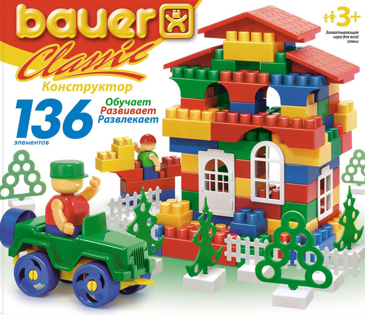 Bauer Конструктор Classic 197 lego classic конструктор дополнение к набору для творчества яркие цвета 10693