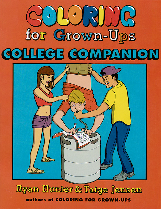Coloring for Grown-Ups College Companion the comedy of errors