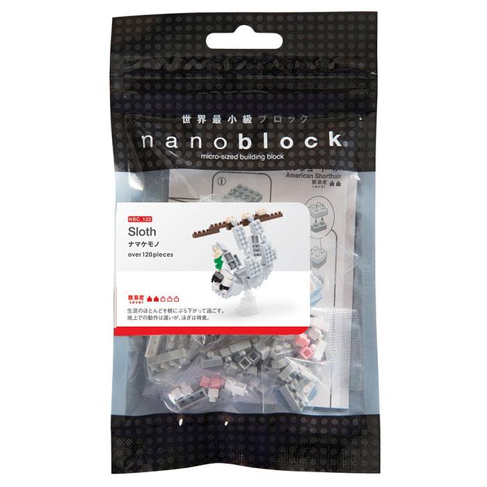 Nanoblock Мини-конструктор Ленивец nanoblock паровоз
