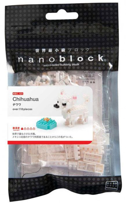 Nanoblock Мини-конструктор Чихуахуа мини чихуахуа в москве