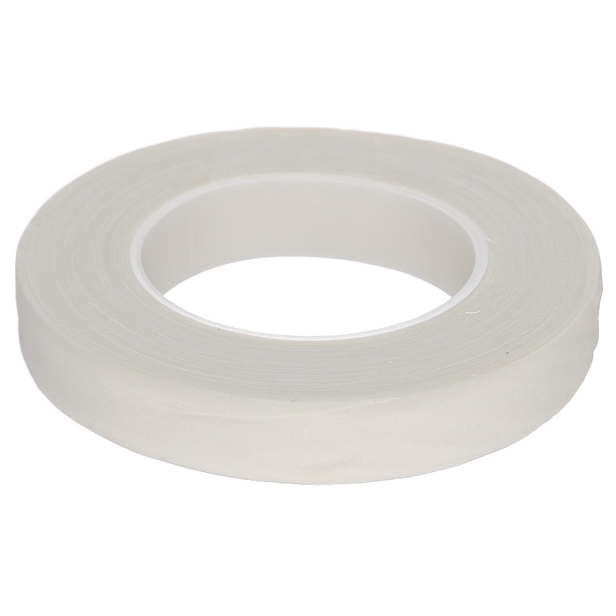 Лента флористическая Fleur, цвет: белый, 1,3 см х 2700 см03-0044Флористическая лента Fleur - это тонкая эластичная лента в катушке с легким клеящим эффектом. Она липкая, тонкая, легкая, водонепроницаемая, хорошо растягивается. Лента бывает широкой и узкой. Широкая лента в основном используется для крепления к сосуду флористической губки, узкой лентой также иногда перекрещивается отверстие широкогорлового сосуда для закрепления растений. Флористическая лента может использоваться в квиллинге при изготовлении цветов на проволоке, конфетных деревьев, украшений из бисера, различного декора. В основном лента применяется для декорирования проволоки в букетах в соответствии с цветом букета. При намотке флористическую ленту необходимо немного натягивать, чтобы она лучше прилипала к стеблю цветка. Особенности флористической ленты: - Легко разглаживается и плотно прилегает к поверхности,- Принимает любую форму,- Позволяет продлить свежесть цветка, поэтому необходима при создании свадебных букетов и других аксессуаров из цветов,- Лентой можно загрунтовать гладкую поверхность перед закреплением на ней флористической композиции, чтобы фиксация последней была устойчивой.Ширина ленты: 1,3 см.Длина ленты: 27 м.