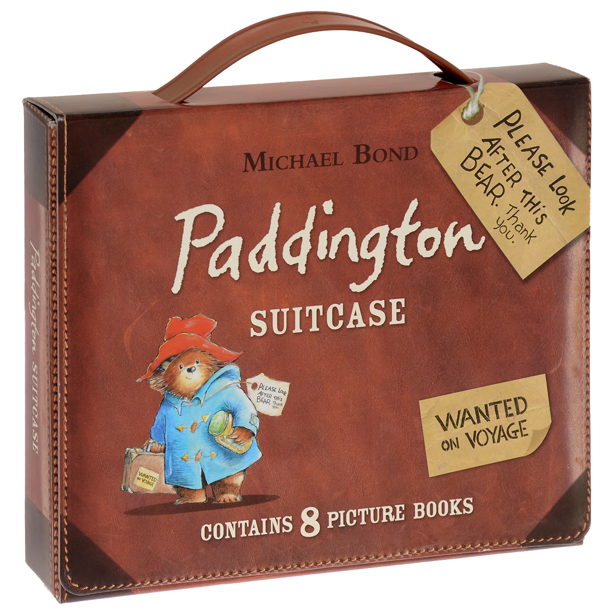 Paddington Suitcase (комплект из 8 книг) paddington bear all day