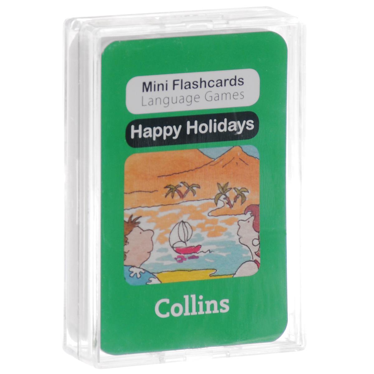 Happy Holidays (набор из 40 карточек) little friends flashcards набор из 21 карточки
