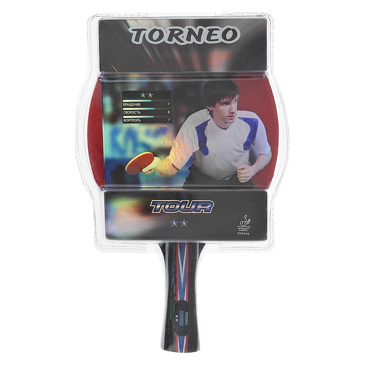 Ракетка для настольного тенниса Torneo Tour ракетка для настольного тенниса torneo tour