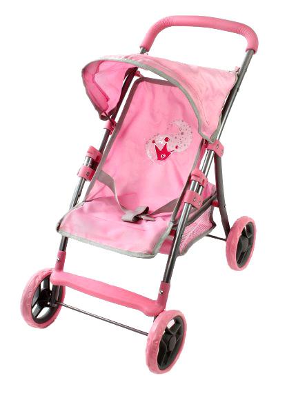 Mary Poppins Коляска для кукол Корона цвет светло-розовый