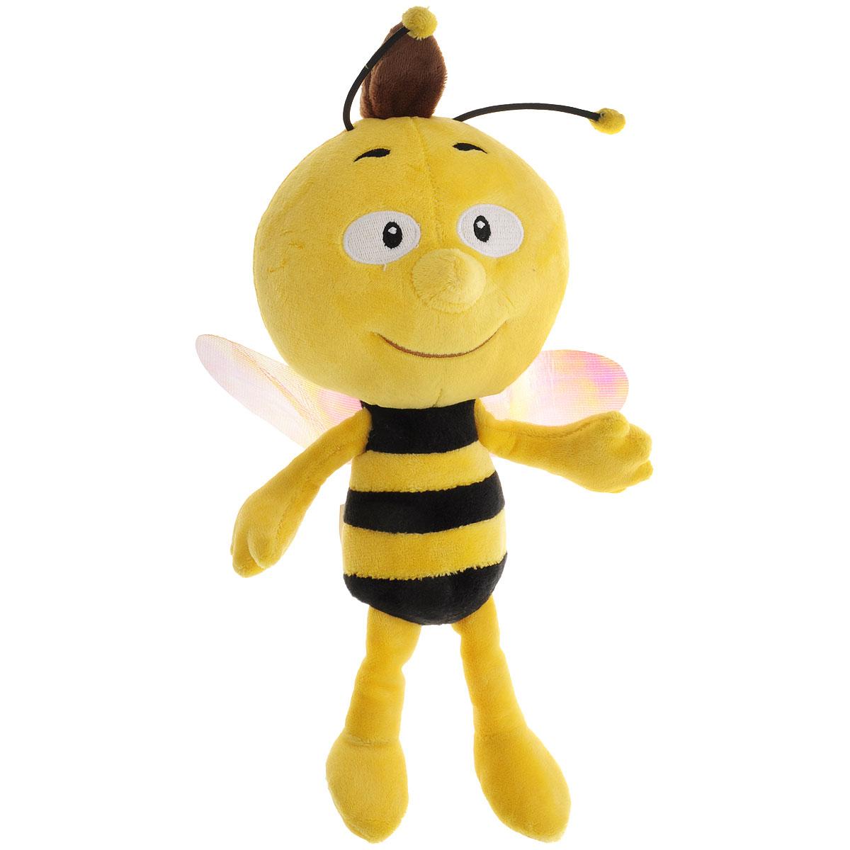Мягкая озвученная игрушка Пчелка Майя Вилли, 30 см пчелка майя новые приключения выпуск 4 побег из улья