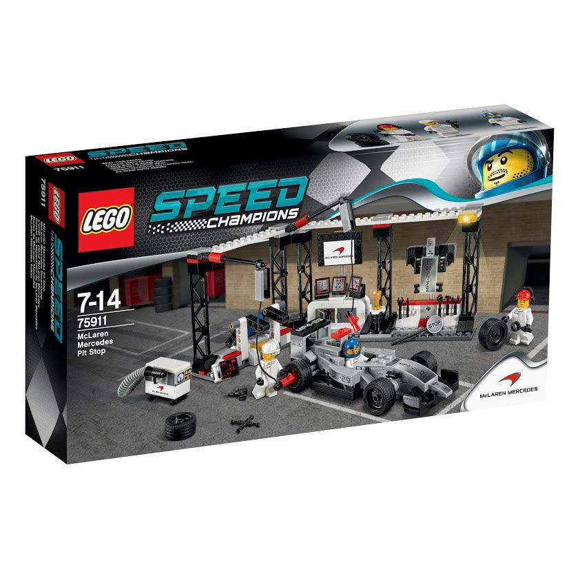 LEGO Speed Champions Конструктор Пункт техобслуживания McLaren Mercedes 75911 открыть пункт самовывоза
