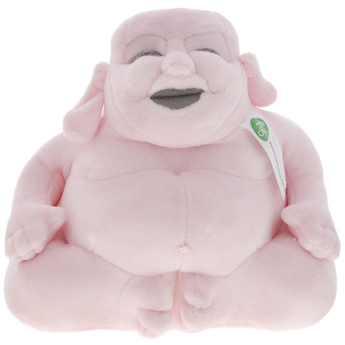 Мягкая игрушка Huggy Buddha Junior, цвет: розовый, 18 см фигурки игрушки junior megasaur игрушка junior megasaur собери динозавра