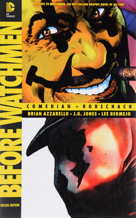 Before watchmen v2 before watchmen comedian rorschach