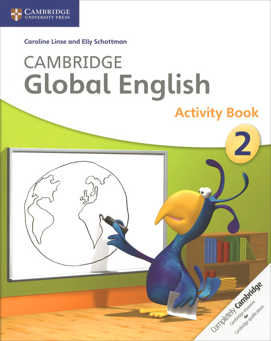 Cambridge Global English 2: Activity Book my 1 2 3 sticker activity book