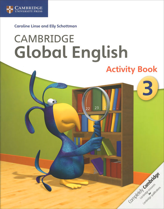 Cambridge Global English 3: Activity Book my 1 2 3 sticker activity book