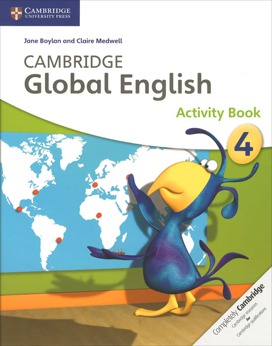 Cambridge Global English 4: Activity Book christmas colouring and activity book