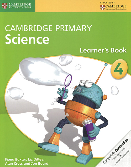 Cambridge Primary Science 4: Learner's Book cambridge primary science 1 learner s book