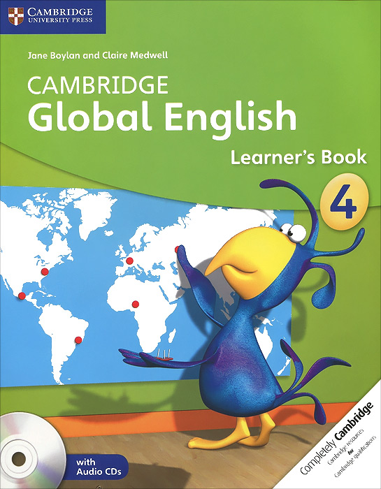 Cambridge Global English 4: Learner's Book (+ 2 CD) driscoll l cambridge english skills real reading 3 with answers