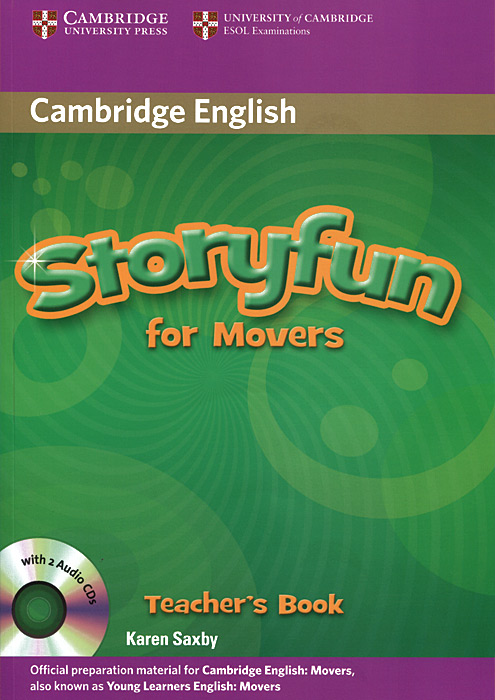 Storyfun for Movers: Teacher's Book (+ 2 CD) storyfun for flyers teacher s book with audio cds 2