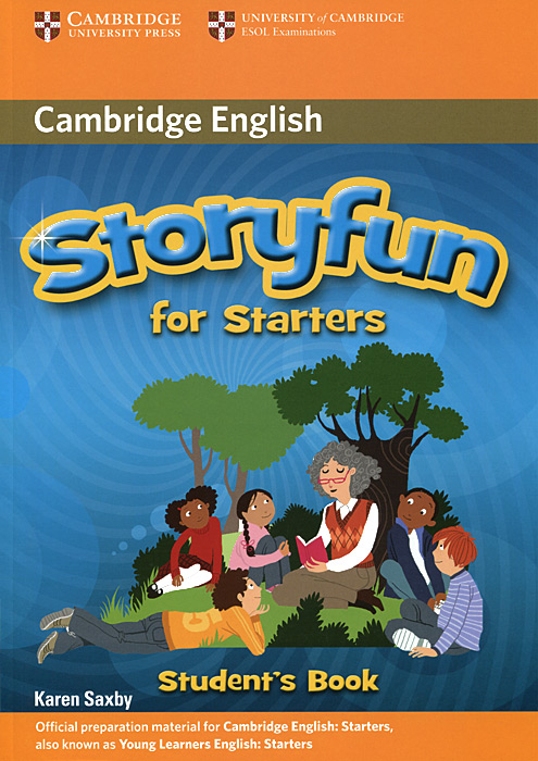 Storyfun for Starters: Student's Book гамак 2 местный тканый larsen camp 31203 200х150см