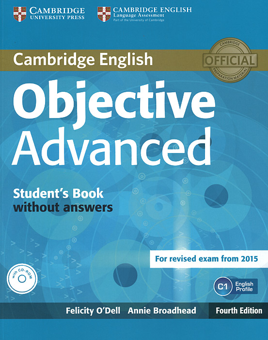 Objective Advanced: Workbook without Answers (+ CD-ROM) objective pet workbook with answers