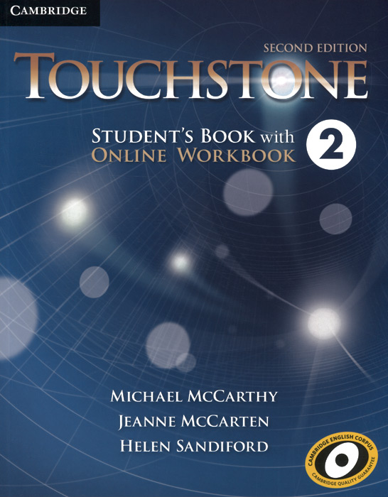 Touchstone 2: Student's Book with Online Workbook цветкова татьяна константиновна english grammar practice учебное пособие