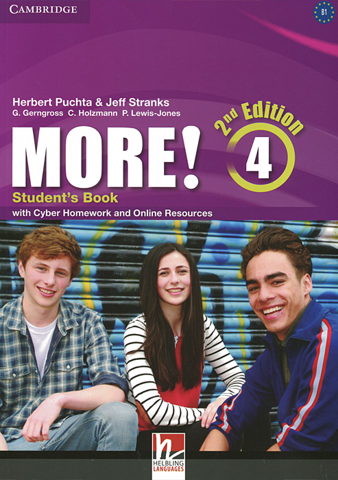 More! Level 4: Student's Book with Cyber Homework and Online Resources