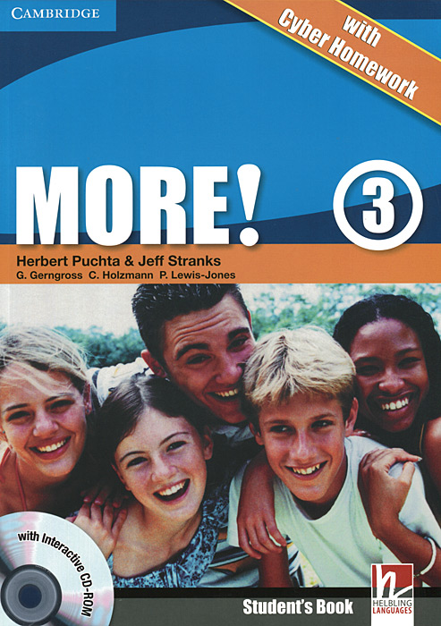 More! Level 3: Student's Book with Cyber Homework (+ CD-ROM) hot spot level 3 teacher s book cd rom