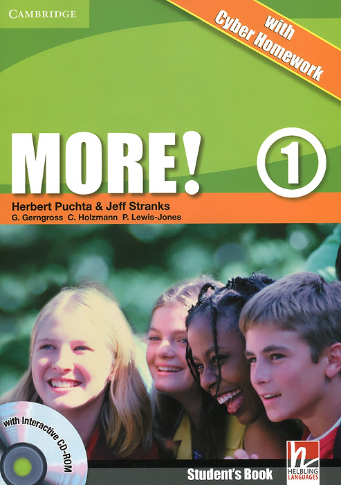 More! Level 1: Student's Book with Cyber Homework (+ CD-ROM) hot spot level 3 teacher s book cd rom