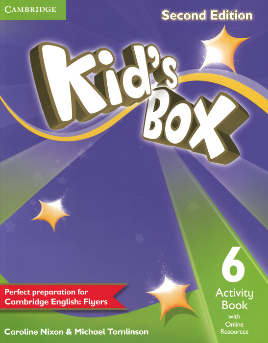 Kid's Box 6: Activity Book with Online Resources hewings martin thaine craig cambridge academic english advanced students book