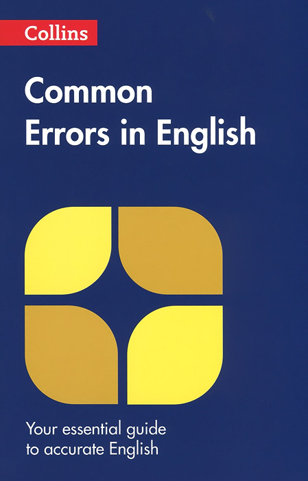 Collins Common Errors In English the comedy of errors