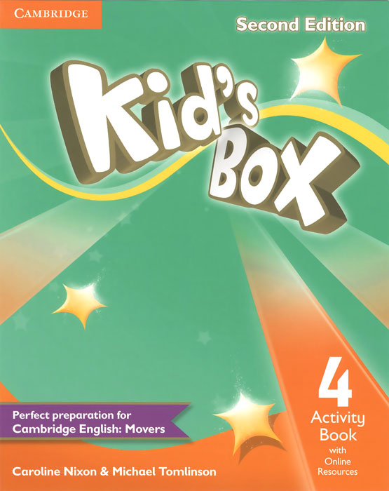 Kid's Box 4: Activity Book with Online Workbook 1pc ac servo amplifier mr j2s 200a plc new in box for new