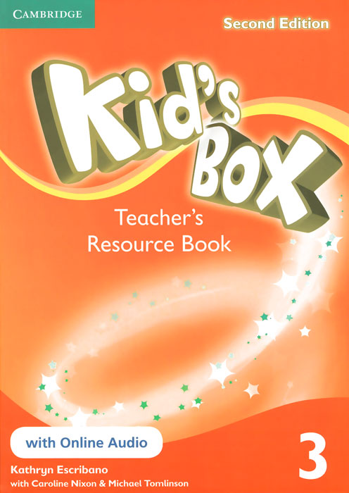 Kid's Box 3: Teacher's Resource Book with Online Audio touchstone teacher s edition 4 with audio cd