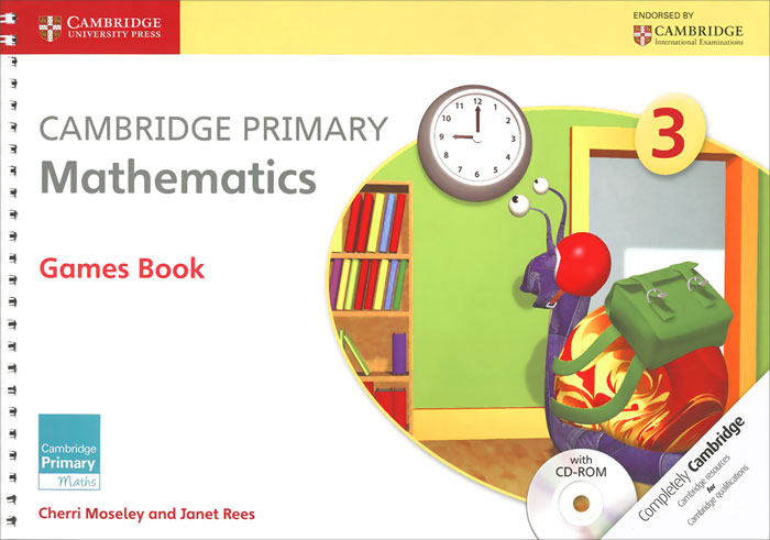 Cambridge Primary Mathematics 3: Games Book (+ CD-ROM) cambridge primary science 1 learner s book