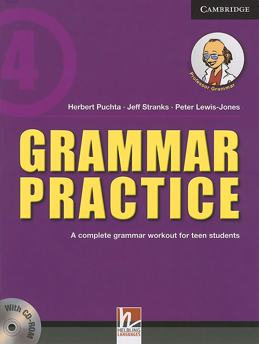 Cambridge: Grammar Practice Level 4: A Complete Grammar Workout for Teen Students (+ CD)