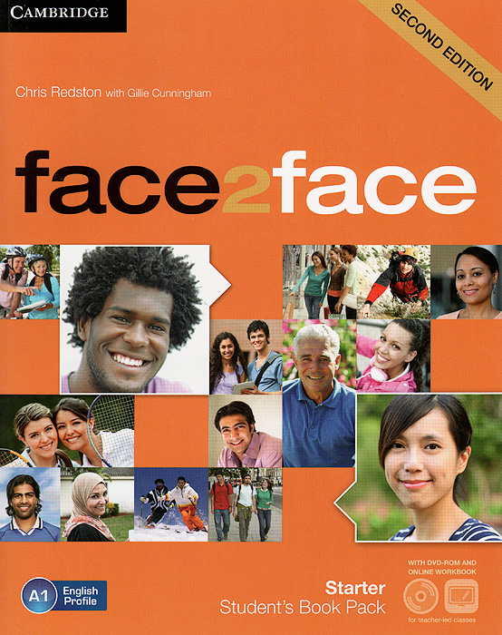 Face2Face: Starter: Student's Book Pack (+ DVD-ROM and Online Workbook) face2face advanced student s book dvd rom