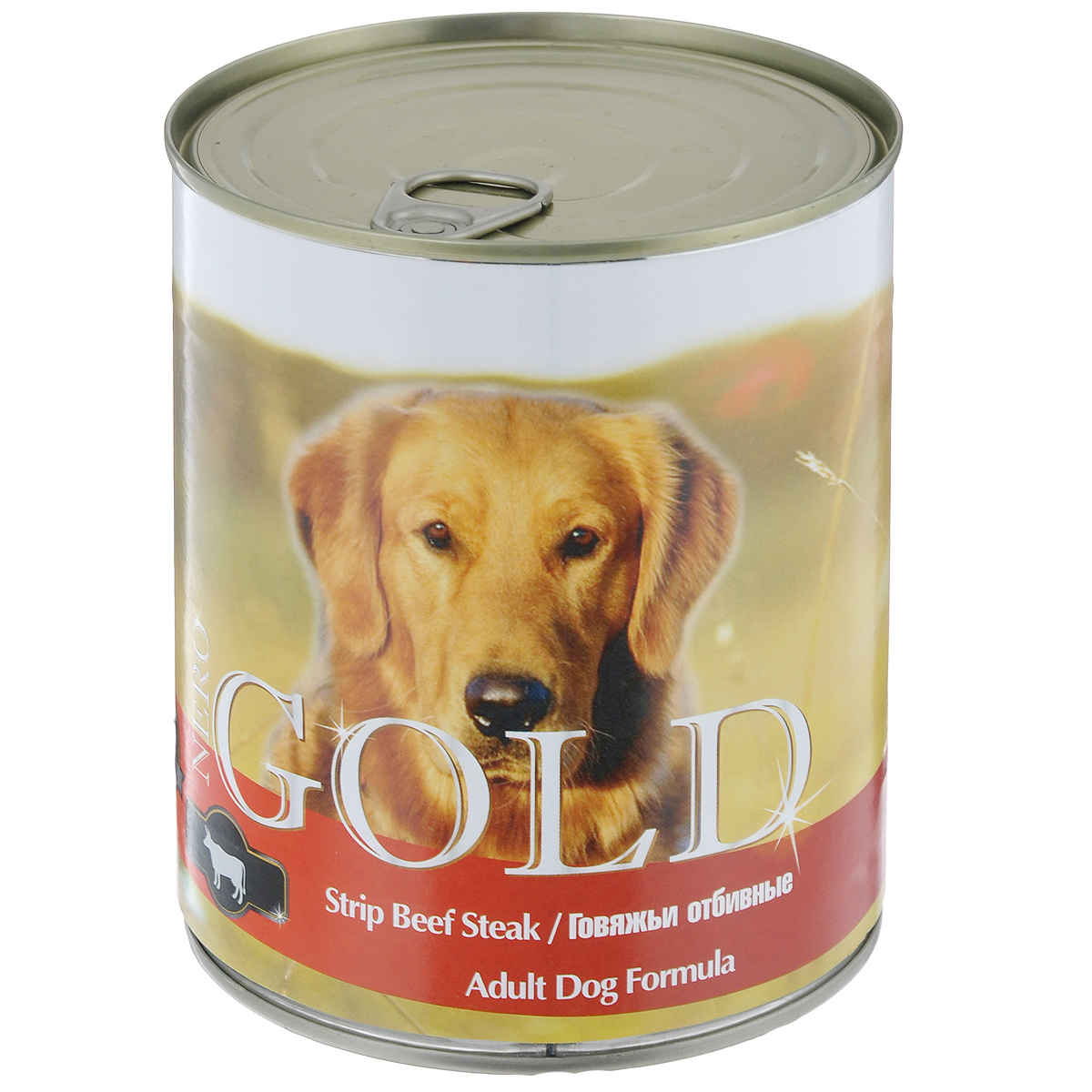 Консервы для собак Nero Gold, с говяжьей отбивной, 810 г nero gold nero gold adult cat chicken 18 кг